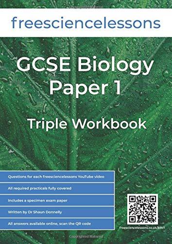 Freesciencelessons GCSE Biology Paper 1: Triple Workbook