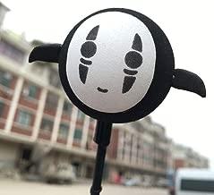 MMTH Cute Black No Face Man Antenna Balls Car Aerial Ball Antenna Topper & Decor Ball