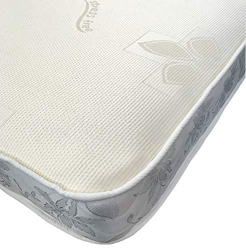 eXtreme comfort ltd The All Foam Orthopaedic Reflex Foam Mattress 5' Deep (3ft by 6ft3 Single Mattress - 90cm by 190cm)