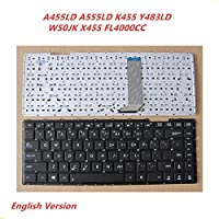 Laptop English Keyboard For Asus A455LD A555LD K455 Y483LD W50JK X455 FL4000CC notebook Replacement layout Keyboard