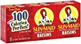 Sun-Maid Raisins Seedless. 1 OZ, 6 CT (Pack of 24)