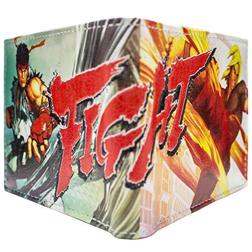 Cartera de Capcom Street Fighter 5 Ken Ryu Blanco