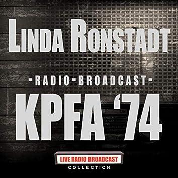 Radio Broadcast - KPFA '74 (Live)
