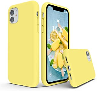 Matte Plastic Flexible Protection Cover for Apple iPhone 11 (Yellow)