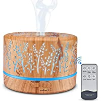 Manli Ultrasonic Aromatherapy Cool Mist Oil Diffuser with Remote Control