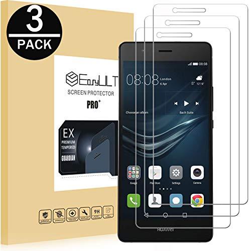 EasyULT Pellicola Protettiva per Huawei P9 Lite [3 Pezzi], Pellicola Protettiva in Vetro Temperato Screen Protector per Huawei P9 Lite