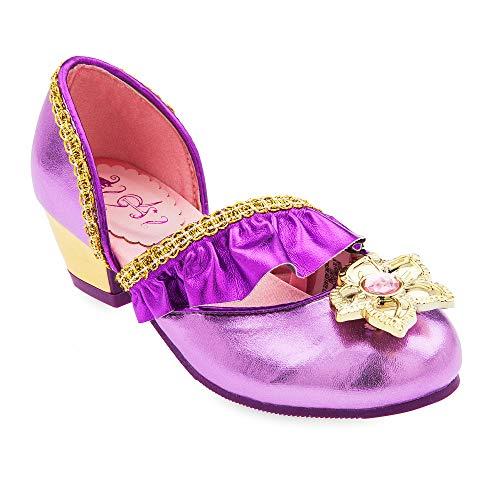 Disney Rapunzel Costume Shoes for Kids - Tangled Size 11/12 YTH Multi