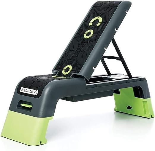 Escape Fitness   Deck V2.0 Workout Platform or Adjustable Bench - Black/Green