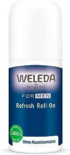WELEDA(ヴェレダ) リフレッシュロールオン Men 50mL ボディフレッシュナー オーデコロン デオドラント 制汗剤 メンズケア アルミニウム塩フリー ウッディハーブの香り 天然由来成分 オーガニック