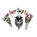 Pirata esqueleto decoración patrón póker jugar magia tarjeta divertido juego de mesa