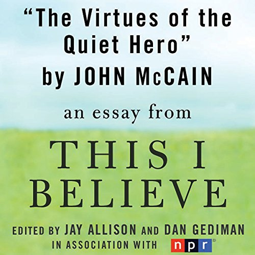 The Virtues of the Quiet Hero audiobook cover art