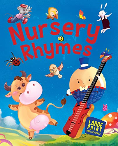 Large Print: Nursery Rhymes