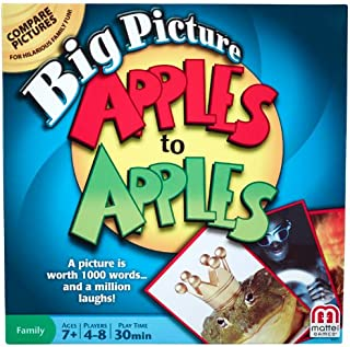 Mattel Games Big Picture Apples to Apples Game