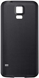 GreatQIQI Samsung Galaxy S5 Replacement Back Cover, Plain Housing Battery Cover for Samsung Galaxy S5 (Black)
