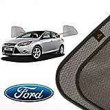 Cortinillas Parasoles Coche Laterales Traseras a Medida para Ford Focus (3) (2011-presente) Hatchback 5 Puertas