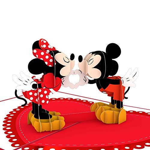 Lovepop Disney Pop Up Valentinstag Karten – 3D Karten, Valentinstag Pop Up Karten, Grußkarten, 3D Valentinstag Karten Süße Karten Valentinstag Romantik Karten Herz-zu-Herz