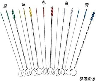 7-3332-05ミニクリーナーブラシ120×Φ2.5×約0.7mm緑