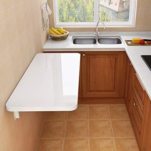 Platzsparender Klapptisch Zur Wandmontage Tragfähigkeit 60 Kg Küchenarbeitsplatte Wasserdicht Und Leicht Zu Reinigen Tisch Glattes Bedienfeld Computertisch Verschleißfester
