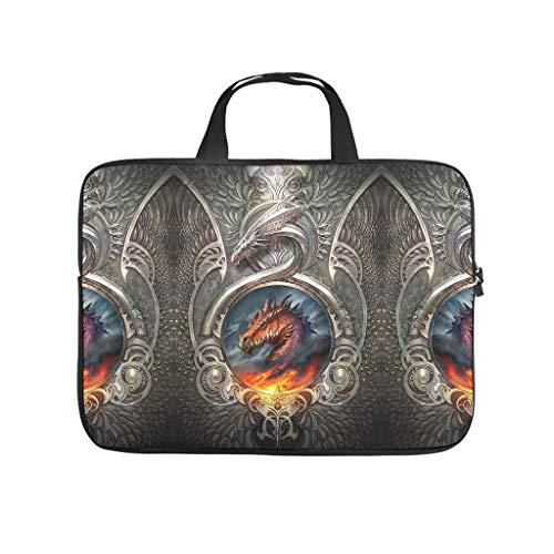 Armor Fire Dragon 3D Print Laptop Bag Protective Case Lightweight Neoprene Laptop Sleeve Bag Trendy Laptop Sleeve Case Sizes Available