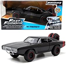 New 1:24 Fast & Furious 7 Dom's 1970 Black Dodge Charger R/T Off Road Version Diecast Model Car By Jada Toys by Jada