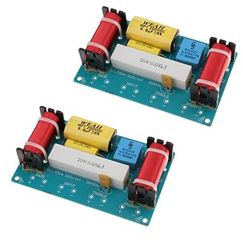 D DOLITY 2pcs Diviseur Filtre Séparateur Hauts parleurs Module Adaptateur fréquence