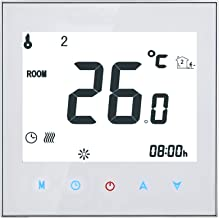 Home Programmable Thermostat with WiFi for Water Heating System, Kecheer Smart Thermostats Touchscreen Heat Only Thermosta...