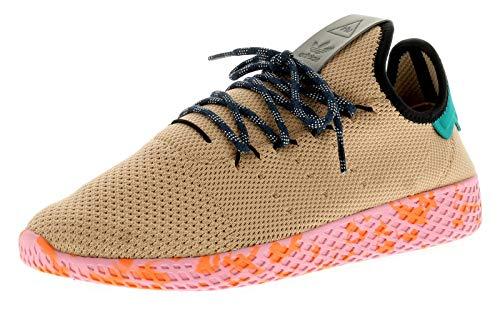 adidas Originals Pw Tennis Hu Mens Synthetic Material Trainers Beige - 5.5 UK