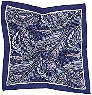 Tarocash Men's Paisley Pocket Square for Going Out Smart Occasionwear