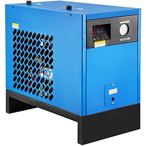 VEVOR Refrigerated Air Dryer 50 CFM Compressed Air Dryer Refrigerated 110V Air Dryer for Compressor Compressed Air Dryer Refrigerated Air Dryer for Air Compressor Dryer System Compressed Air Systems