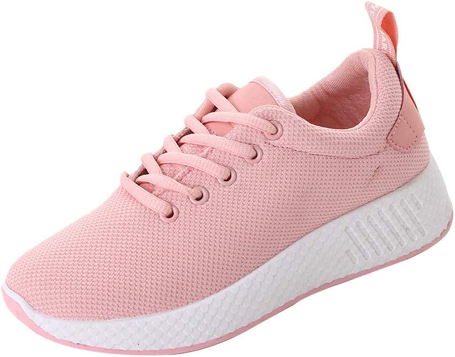 Wallhewb Women Wedges Platform Sneakers New Vulcanize Sports shoes Female Breathable Casual Mesh Cloth shoes Leg Length Comfortable Soft Highten Increasing Joker White 7 M US Sports shoes