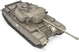 Tank Puzzle Plastic Model Kits, 1/35 Scale Centurion Main Battle Tank Model, Adult Toys And Gift, 11.1 X 3.8Inch