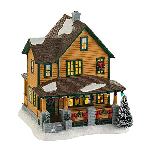 Department 56 A Christmas Story Ralphie's House Lighted Building #4029245