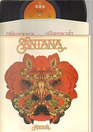 SANTANA - FESTIVAL - LP vinyl record