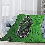LHLMM Harry-Potter - Manta de forro polar para cama de adultos y...