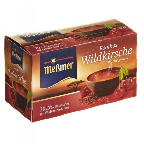 Meßmer Rooibos Wildkirsche 20 Teebeutel - 12 Packungen