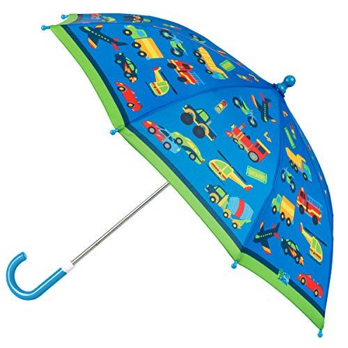 Stephen Josheph Gifts Kids' Little Boys' Stephen Joseph All Over Print Umbrella, TRANSPORTATION