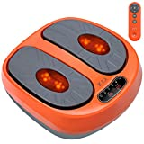 Foot Massager, Machine Foot Relax Vibration Platform with Remote Control, Multi Levels Foot Massager