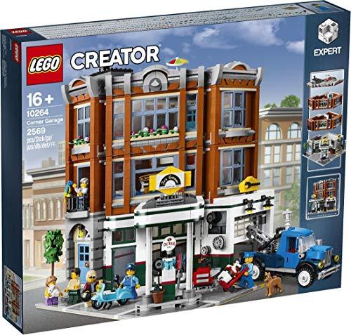 LEGO Creator Expert - Taller de la Esquina, Juguete de Maqueta de Edificio para Construir con Vehículos y Minifiguras (10264) , color/modelo surtido