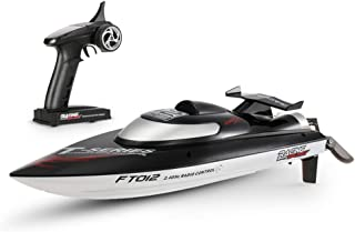Anniston Kids Toys, Feilun FT012 45km/h High Speed RC Remote Control Racing Boat Ship Model Toy Remote Control Toys Perfec...