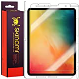 Skinomi Full Body Skin Protector Compatible with Apple iPad Pro 11 (2018)(Screen Protector + Back Cover) TechSkin Full Coverage Clear HD Film