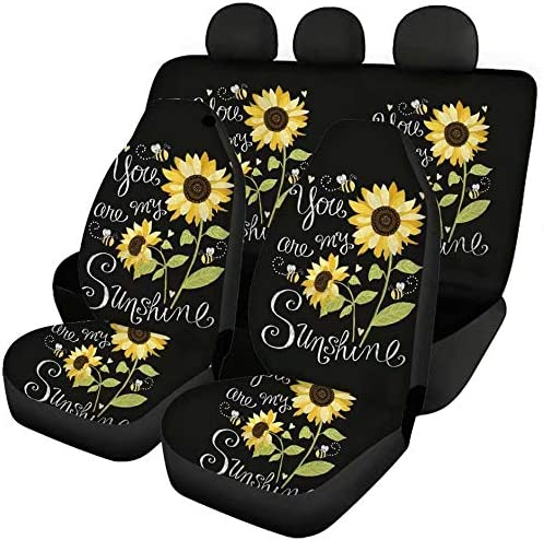 GOSTONG Sunshine Outlet ☆ Free Shipping Sunflower Car Accessories Back High order Seat Protector +