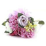 Tarente Kunstseide-Blumen-Blumenstrauß-Startseite Blumen Hochzeit Gartendeko