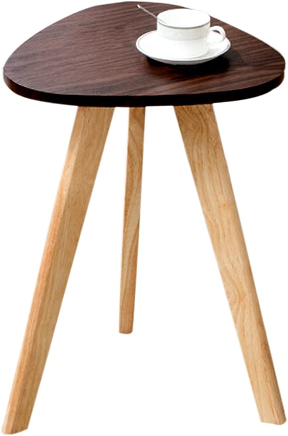 Small Coffee Table Sofa Side Table Simple Solid Wood Coffee Table Small Round Table Stylish Bedside Table Personalized Magazine Table Leisure Table Tea Break Table Strong Gravity