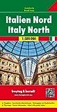 Italia norte, mapa de carreteras. Escala 1:500.000. Freytag & Berndt.: With Cultural Guide (Auto karte)