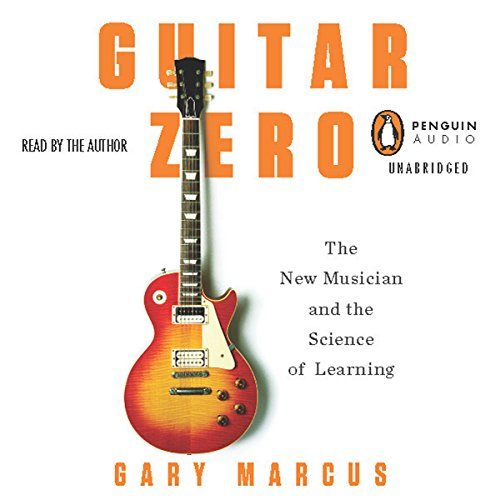 Guitar Zero audiobook cover art