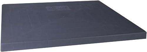 """DiversiTech EL3636-3 E-Lite Condenser Pad, 36"""" x 36"""" x 3"""", 28# per Pad, Gray"""