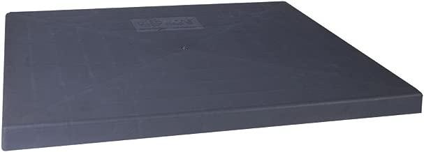 Diversitech EL3636-3 E-Lite Plastic Condensing Unit Pad, 36x36x3