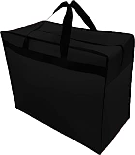 AliceHouse X-Large Breathable Wedding Gown Train Formal Dress Garment Bag Storage Carrying Suitcase Cover Bags FCZ010 Black