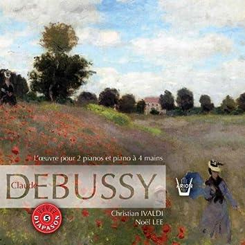 Debussy : Intégrale de l'oeuvre pour 2 pianos et 4 mains