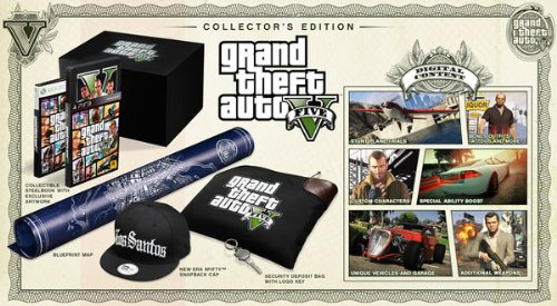 Grand Theft Auto V - Edición Coleccionista